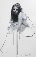 Mark Demsteader Amy, seated