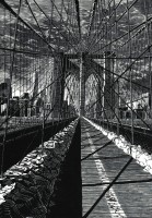 Anne Desmet RA Brooklyn Bridge: New Day