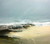 Chris Bushe RSW Big Sea, Bright Beach