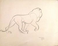 Stanislaus Brien (fl.1930-32) Lion 7