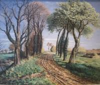 Stanislaus Brien (fl.1930-35) Autumn Landscape