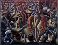 PJ Crook Burlesque Bar