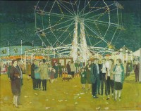 Harry Norman Eccleston (1923 - 2010) Fun Fair