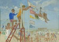 John Ward Beach Scene