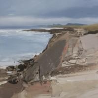 Chris Bushe Grey Rocks Pink Shingle Saligo Bay