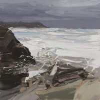 Chris Bushe Roiling Sea Coul Point
