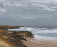 Chris Bushe Windswept Saligo Bay
