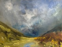 Oona Campbell An unexpected light on the mountains Cashlie, Glen Lyon
