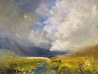 Oona Campbell There was a strong wind that day Cashlie, Glen Lyon