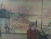 Carel Weight (1908-1997) Home to Bed