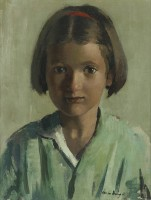 William Dring (1904-1990) Young Girl
