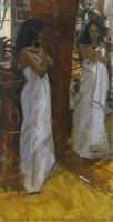 Ken Howard OBE RA Sarah, Harmony in White
