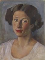 Bernard Fleetwood-Walker (1893-1965) Portrait of a Woman