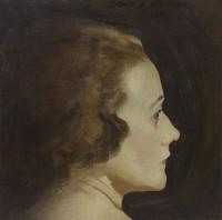 Sidney E. Dickinson (1890 - 1980) Portrait of a lady