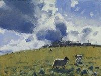 Charles Simpson Clouds & Sheep