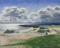 Charles Simpson Clouds over Skye