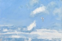 Charles Simpson Gannet & Clouds