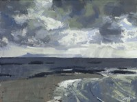 Charles Simpson Late Light, the Small Isles