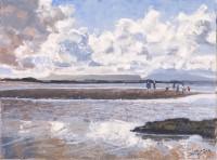 Charles Simpson On the Beach