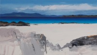 Chris Bushe Blue Afternoon, North Beach, Iona
