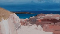 Chris Bushe Brooding Rum–White Beach, Coll