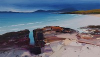 Chris Bushe Evening Blue, the Sound of Taransay