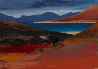 Chris Bushe Evening Light, Seilebost