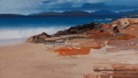 Chris Bushe Incoming Tide and the Mountains of North Harris