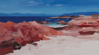 Chris Bushe Red Rocks, White Sands, Blue Sea–Iona