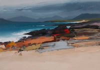 Chris Bushe Wind, Waves and Rocks, South Harris