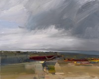 Chris Bushe Big Sky over Loch Indaal from An Innis