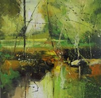 Claire Wiltsher Engraved in Green