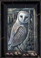 PJ Crook Owl by Moonlight