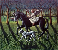 PJ Crook The Angel, Horse, Dog and Dove