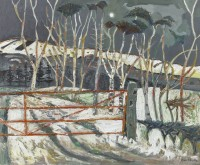 David Martin Winter Trees Perthshire