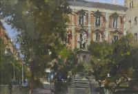 David Sawyer Piazza Bellini Naples