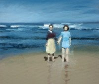 David Storey Friends on a Beach