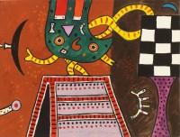 Alan Davie CBE (1920-2014) Cat's Claw No II