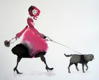 Bridget Davies Walking the Dogs - Marching Home