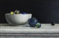Johan de Fre Composition with Marbles