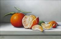 Johan de Fre The Peeled Mandarin