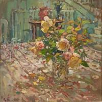 Susan Ryder RP NEAC December Roses