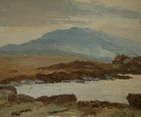 Luke Dillon-Mahon (1917-1997) Blue Mountain, near Maam Cross, Connemara 1