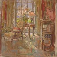 Susan Ryder RP NEAC Drawing Room Sunlight
