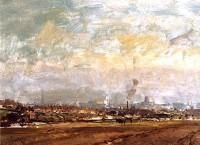 Edward Seago (1910-1974) RBA RSW View of Norwich