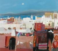Christine Woodside Essaouira Rooftop