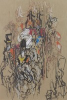 Feliks Topolski The Royal Couple Retuning from St Pauls 1