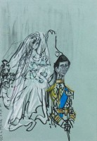 Feliks Topolski The Wedding of Prince Charles and Lady Diana