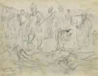 "Feliks Topolski Chiang Kai Shek's China - 1944 ""withdrawal"""