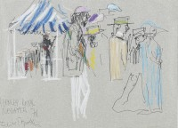 Feliks Topolski (1907-1999) Henley Royal Regatta, 1987